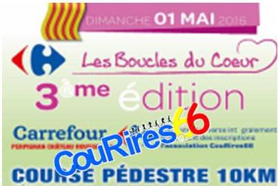 Les Boucles du Coeur Carrefour Château Roussillon
