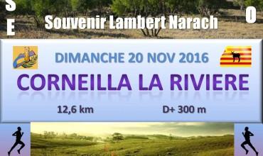 SOUVENIR LAMBERT NARACH CORNEILLA LA RIVIERE