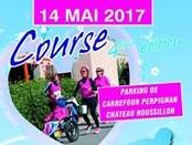 COURSE DES BOUCLES DU COEUR CARREFOUR CHATEAU ROUSSILLON