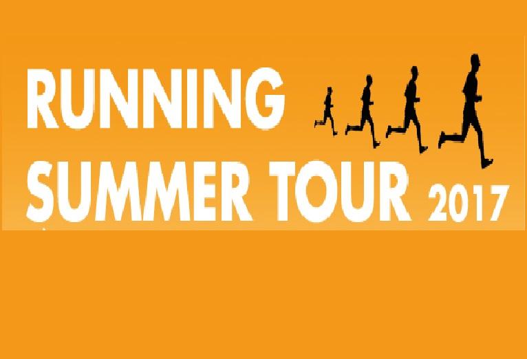 RUNNING SUMMER TOUR 2017