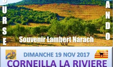 COURSE RANDO SOUVENIR LAMBERT NARACH 12,6 km