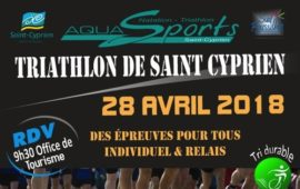 COURIRES 66 AU TRIATHLON DE SAINT CYPRIEN