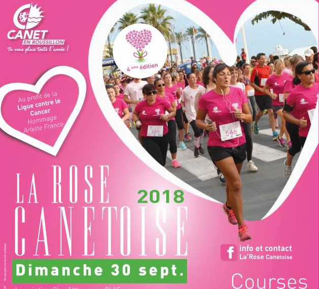 COURSE LA ROSE CANETOISE 10 KM